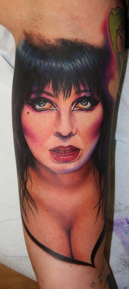 Elvira Tattoo