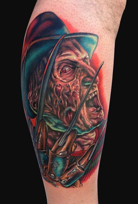 Tattoos - Freddy Krueger Tattoo - 80580