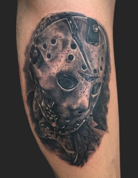 Tattoos - Jason Voorhees friday the 13th tattoo - 104672