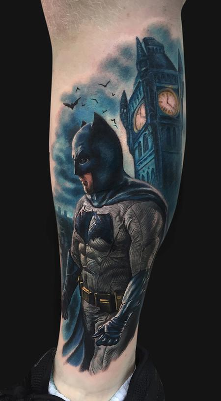 Batman Tattoo Design Thumbnail
