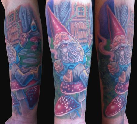 Tattoos - Gnome Tattoo - 80809