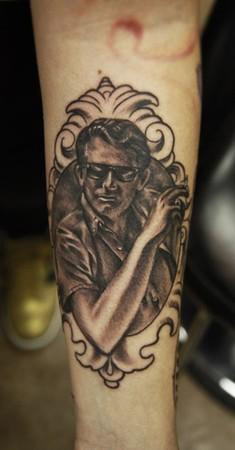 Portrait Tattoo Frame