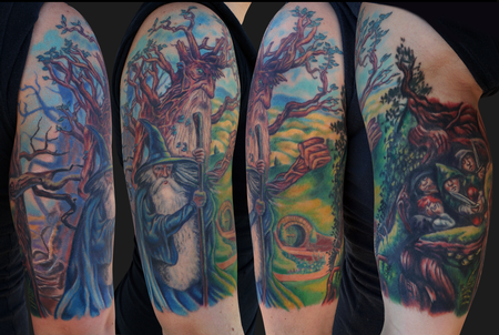 Jamie Parker - Lord Of The Rings Tattoo