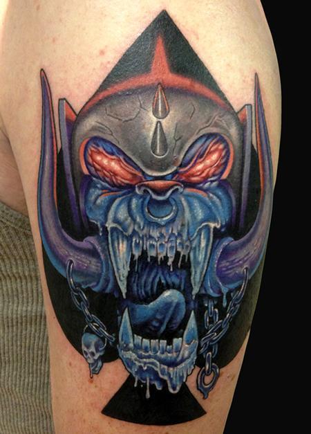 Tattoos - Motorhead Cover up - 78328