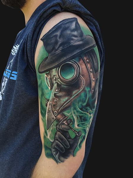 Plague Doctor Tattoo Tattoo Design