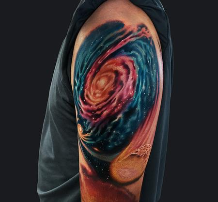 Galaxy Tattoo Design Thumbnail