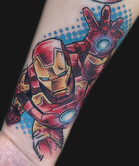 Iron Man Tattoo Design Thumbnail
