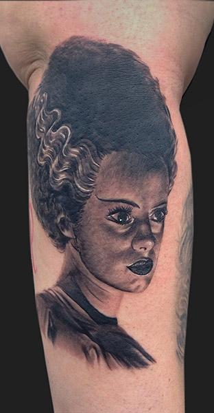 Tattoos - The bride of frankenstein - 99408