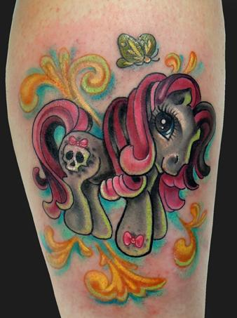 Katelyn Crane - My Little Pony Tattoo