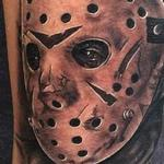 Jason Voorhees tattoo from Friday the 13th Tattoo Design Thumbnail
