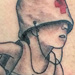 Kid Playing War Tattoo Tattoo Design Thumbnail