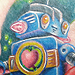 Tattoos - 50's Robot - 60877