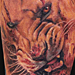 Tattoos - Bloody Lion Tattoo - 79894