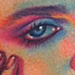 Madonna Color Portrait Tattoo Tattoo Design Thumbnail