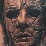 Tattoos - Michael Myers from Halloween tattoo - 104590