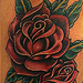 Tattoos - Roses with leafy vine - 60872