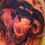 Balrog Lord of The Rings Tattoo Tattoo Design Thumbnail