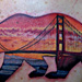 Tattoos - California Bear with a San Fran twist - 86569