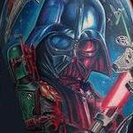 Star Wars half sleeve Tattoo Design Thumbnail