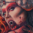 Tattoos - Demoness Tattoo  - 93211