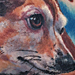 Chiweenie Dog Portrait Tattoo Tattoo Design Thumbnail