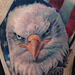Tattoos - Bald Eagle and American Flag Tattoo - 93839