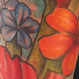 Tattoos - Hawaiian flowers tattoo - 56310