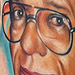 Grandfather Artist Portrait Tattoo Tattoo Design Thumbnail