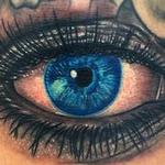 Tattoos - Human eye tattoo - 104583