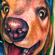 Yellow Lab Memorial Tattoo Tattoo Design Thumbnail