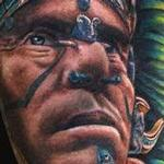 Mayan Warrior Tattoo Tattoo Design Thumbnail