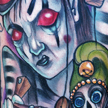 Tattoos - Evil Mime Puppeteer tattoo  - 64518