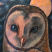 Tattoos - Barn Owl Tattoo - 78228