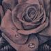 Tattoos - Rose and Thorns Hand Tattoo - 80582