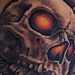 Skull and Skateboard Tattoo Tattoo Design Thumbnail