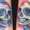 Tattoos - Sugar Love Skulls tattoo - 56313