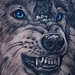 Snow Wolf Tattoo Tattoo Design Thumbnail