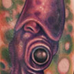 Tattoos - Purple Squid Tattoo - 57039
