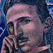 Tattoos - Nikola Tesla Tattoo - 84602