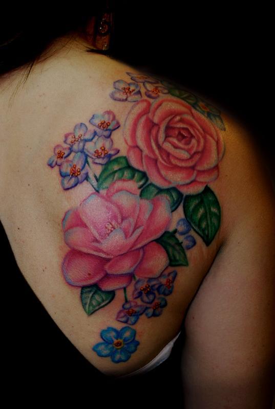 Floral Back