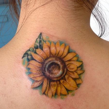 Sunflower tattoo Tattoo Design Thumbnail