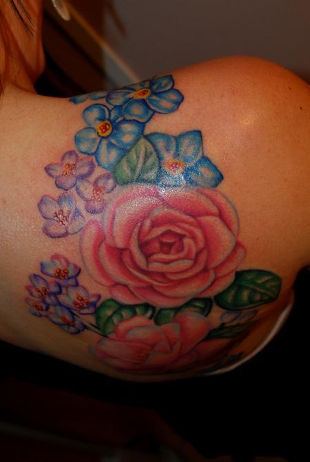 Camellia Tattoo Tattoo Design Thumbnail