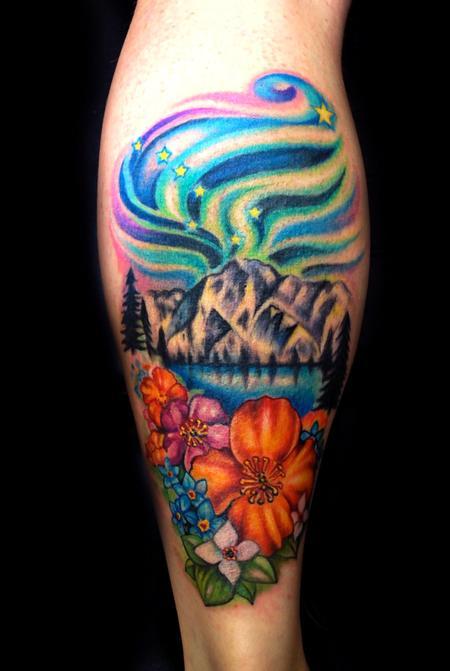 Alaska by mallory swinchock tattoonow for Tattoo shops in aurora