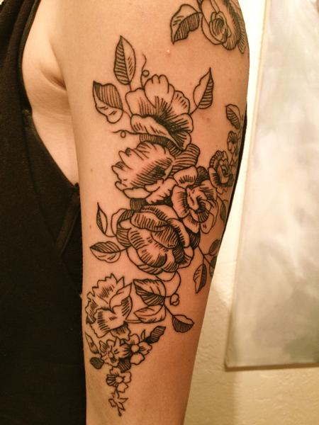 Floral Tattoo Design Thumbnail