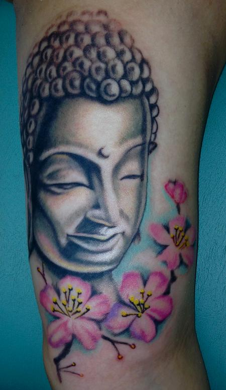 Mallory Johnstone - Buddha Tattoo