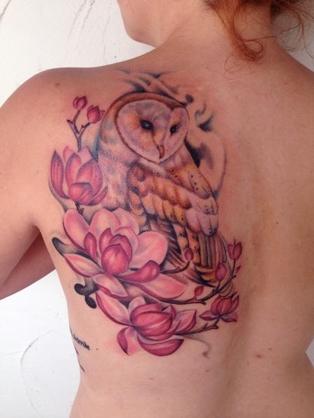 barn owl tattoo Tattoo Design Thumbnail