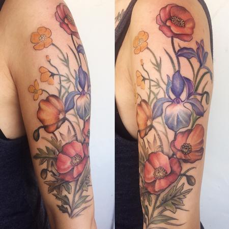 Tattoos - Floral Sleeve - 128926
