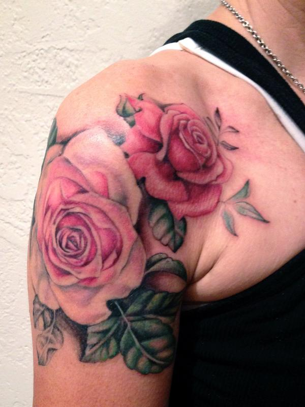 Victorian Rose Tattoo Merkaba Tattoo : Tatto...