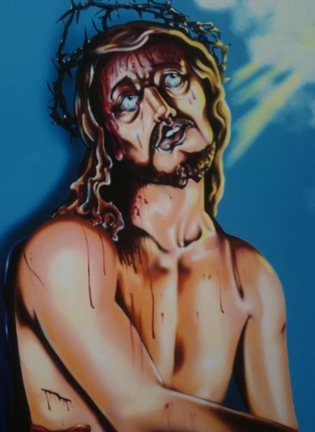 Mario Rosenau - Jesus Color Painting