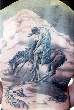 The end of the trail by daniel carroll tattoonow for Tattoo shops salem nh